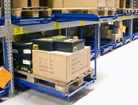 Dexion Palletlades (Pull-out Units)